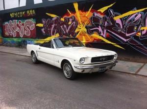 Trouw- en Gala auto Ford Mustang Lanters Autoverhuur BV